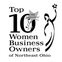Top 10 Women Business Owners of Northeast Ohio Award